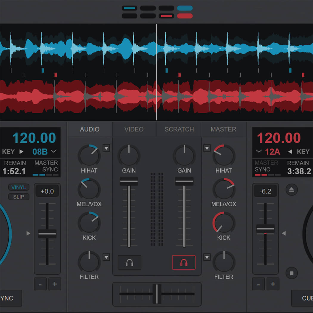 VirtualDJ mixer