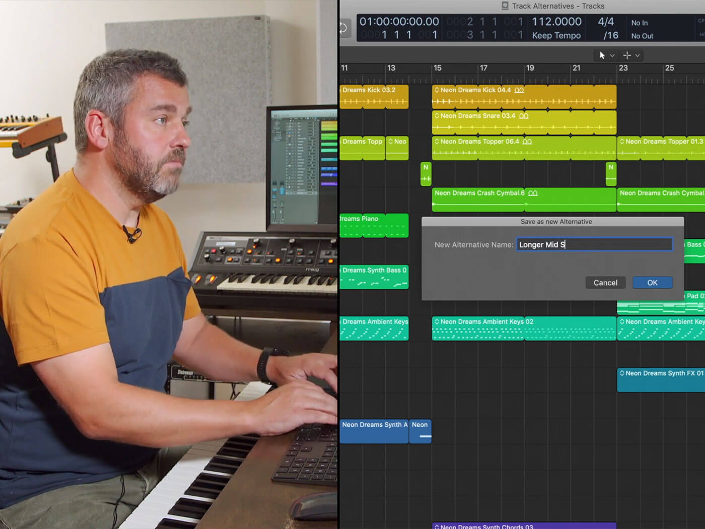 How to use Logic Pro X's Project Alternatives and save multiple versions of your track | MusicTech