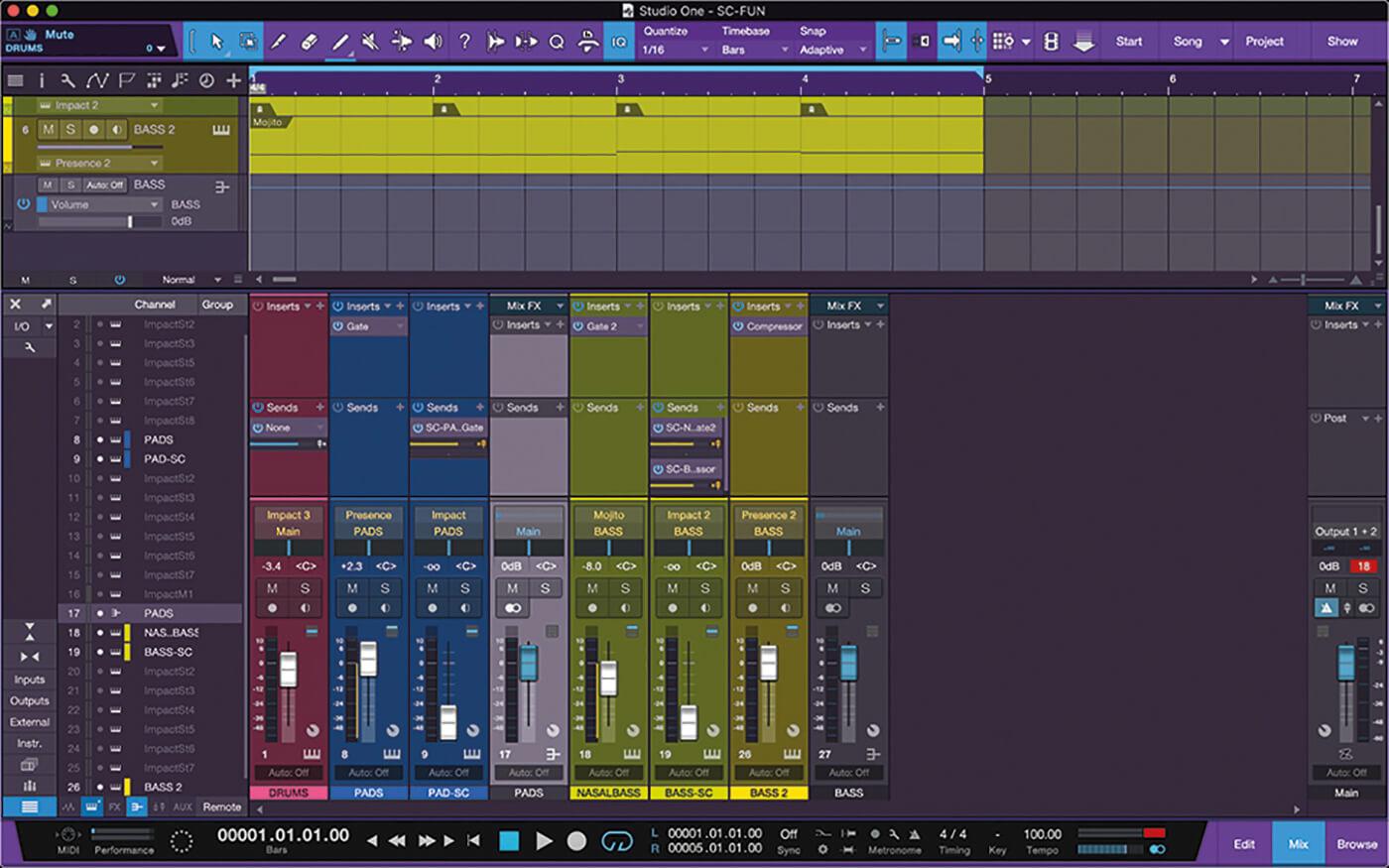 PreSonus Studio One Side Chain 13