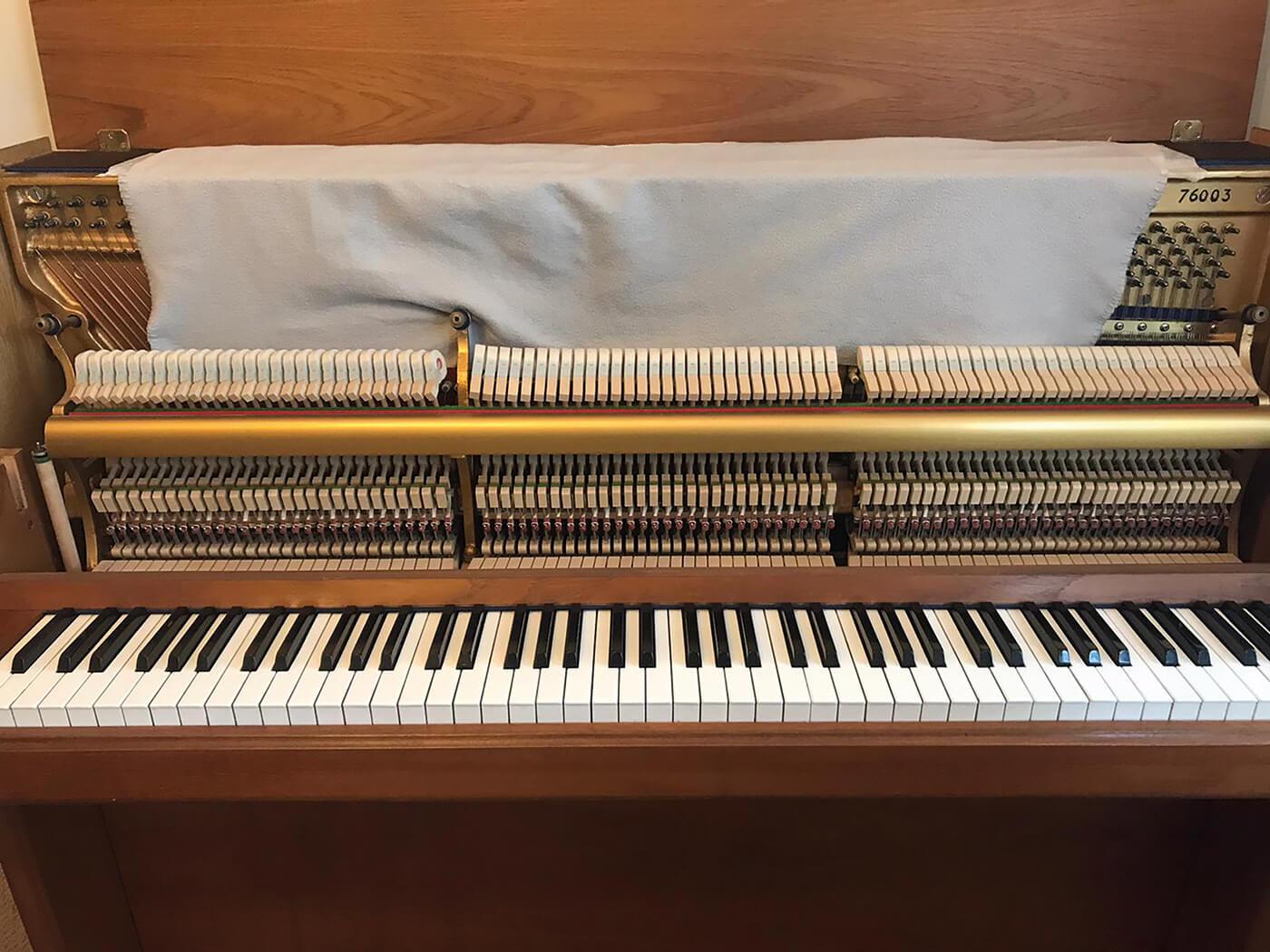 How to use felt pianos - Tutorial Step 2