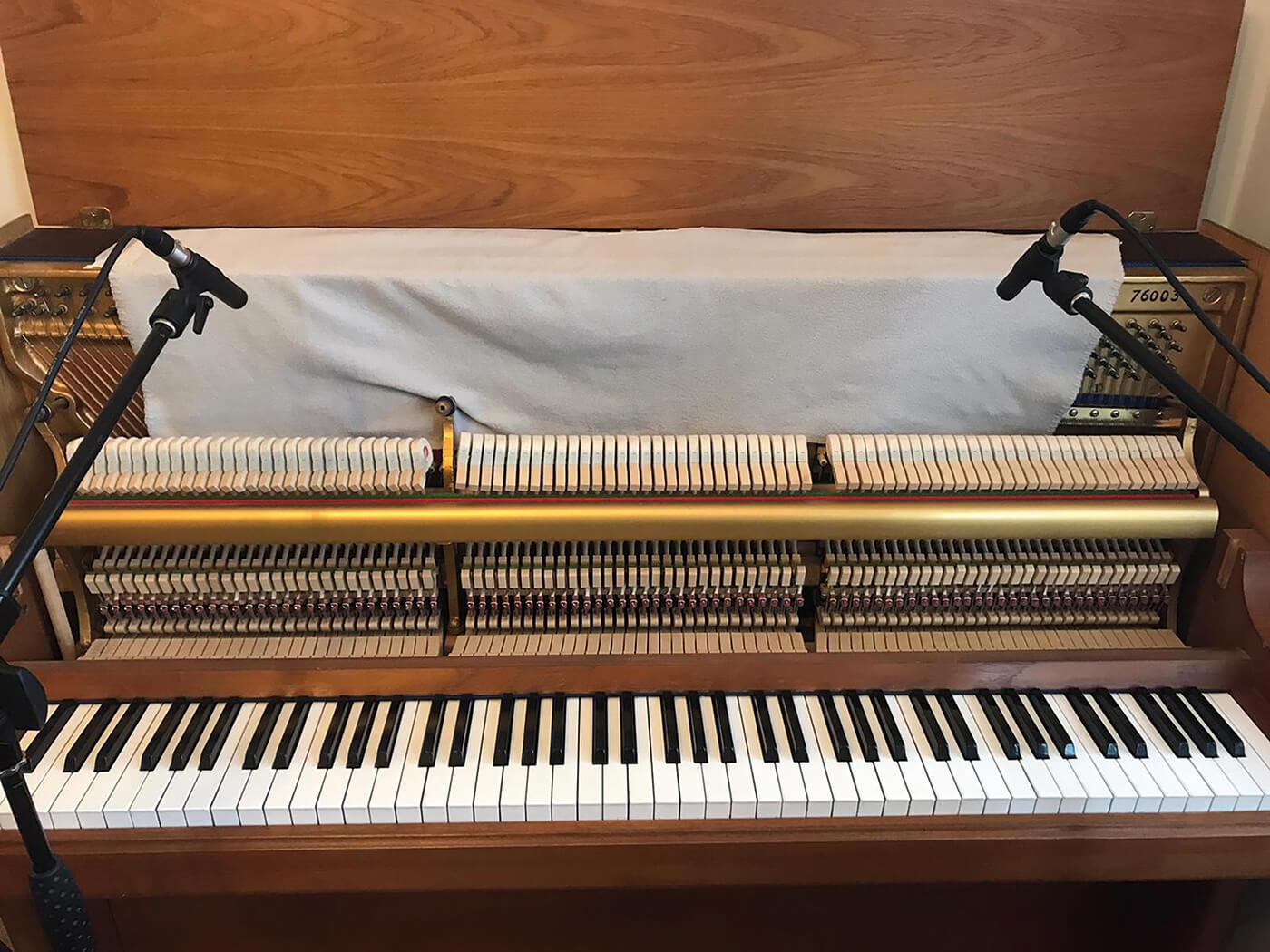 How to use felt pianos - Tutorial Step 4