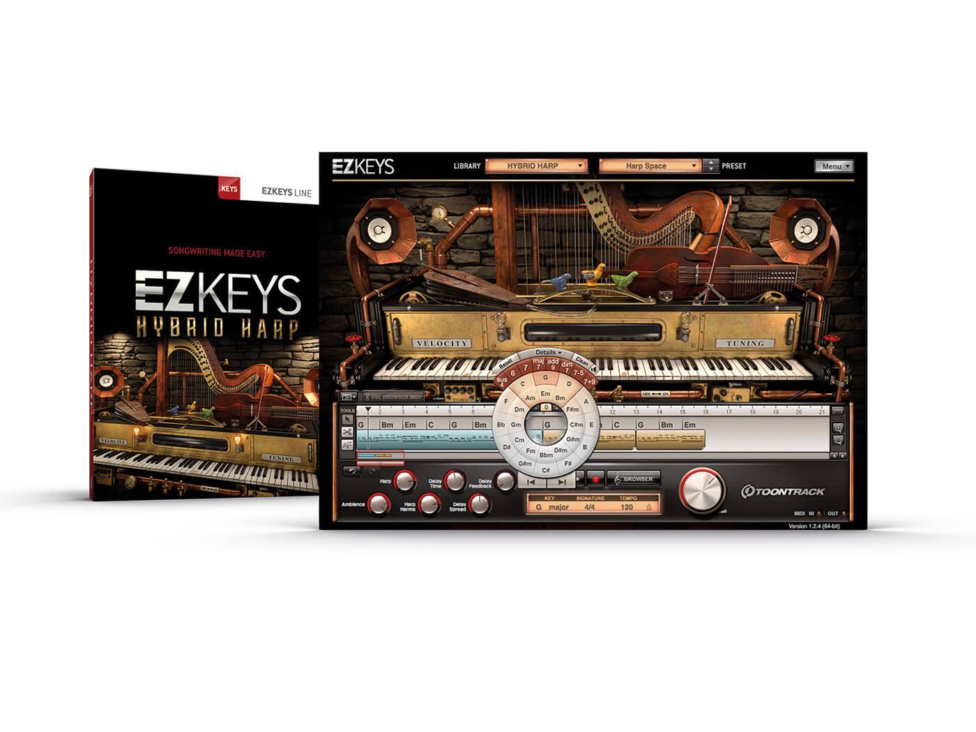 Toontrack EZKeys Hybrid Harp