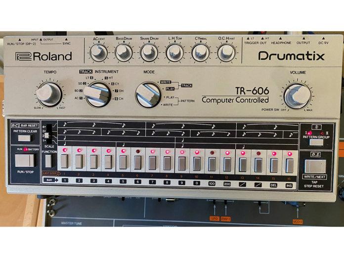 Vintage Rewind Roland TR-606