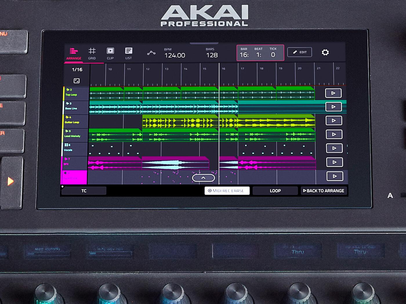 Akai Force 3.0.5