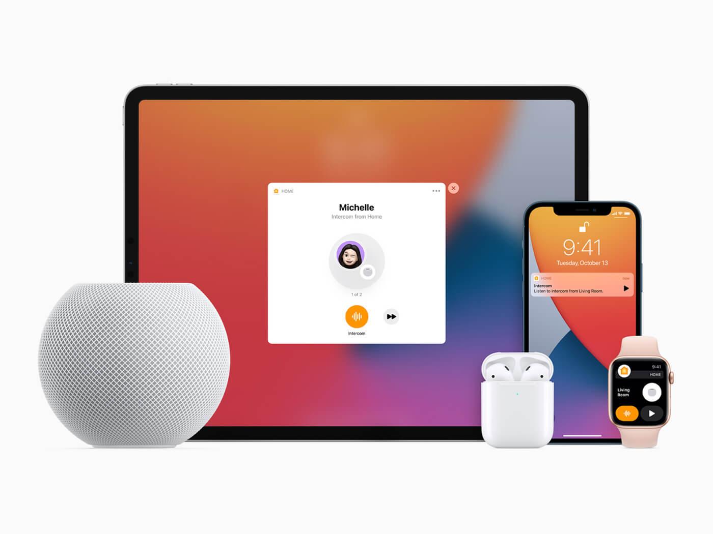 Apple HomePod Mini family