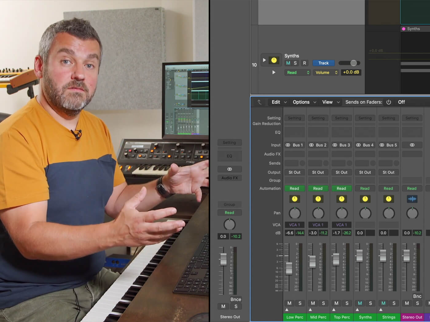 Learn how Logic Pro X's VCA faders can save you time when mixing   MusicTech