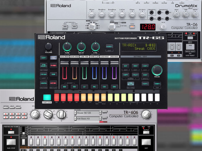 Roland Tr-606 TR-06 TR-6S