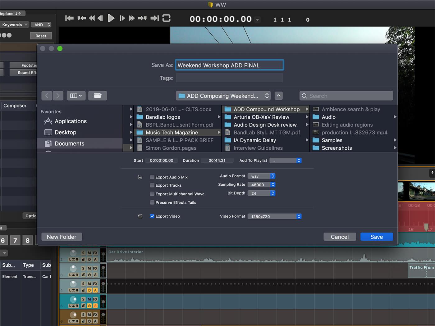 Weekend Workshop Audio Design Desk Create13