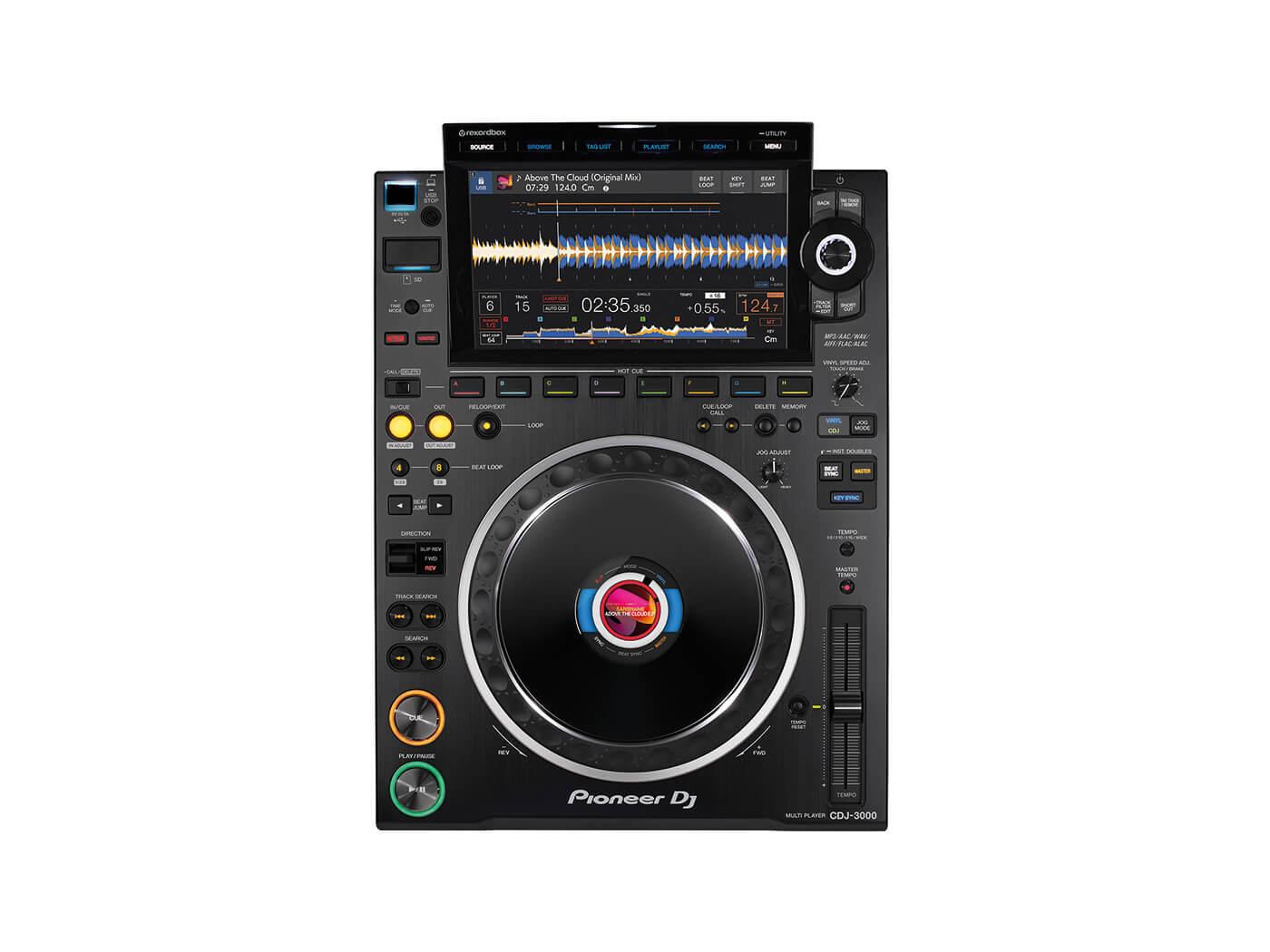 CDJ 3000 TOP WHITE@1400x1050 - Pioneer CDJ-3000 Evaluate