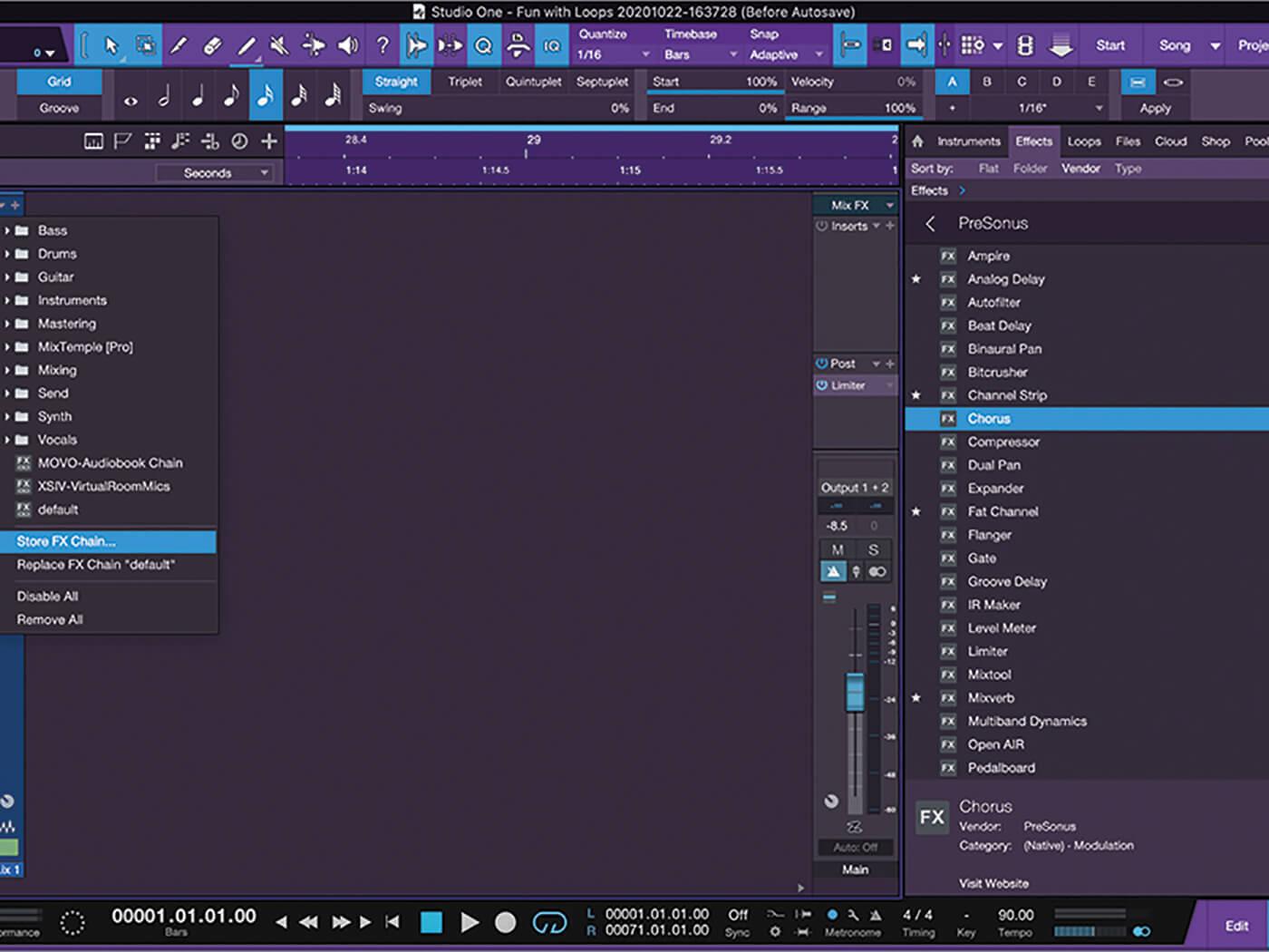 MT213 Studio One TUT 6