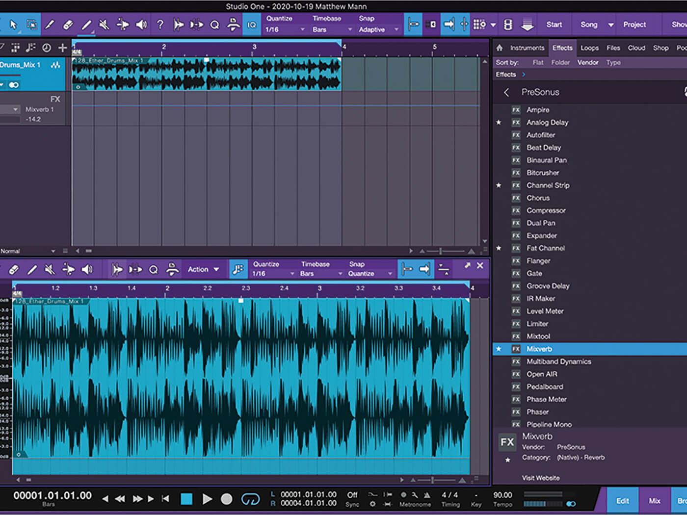 MT213 Studio One TUT 7