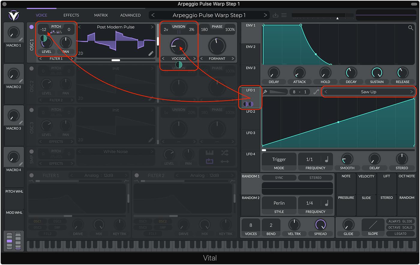 Weekend Workshop: Sound design with Vital 3