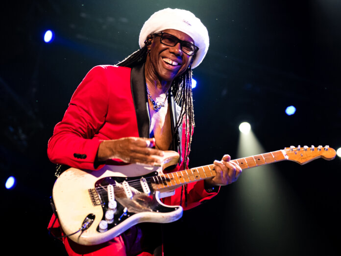 Nile Rodgers onstage