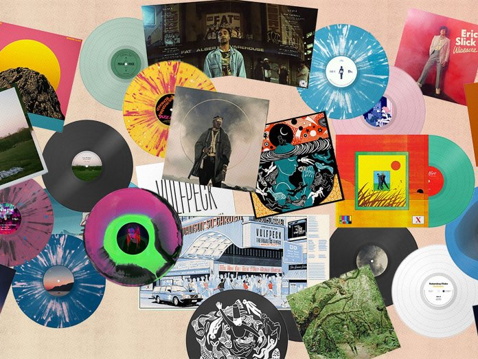 Bandcamp Vinyl Pressing service