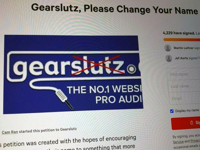 Gearslutz Petition