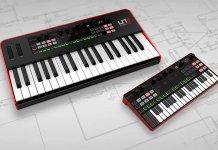 IK Multimedia's Uno Synth Pro Keyboard and Desktop