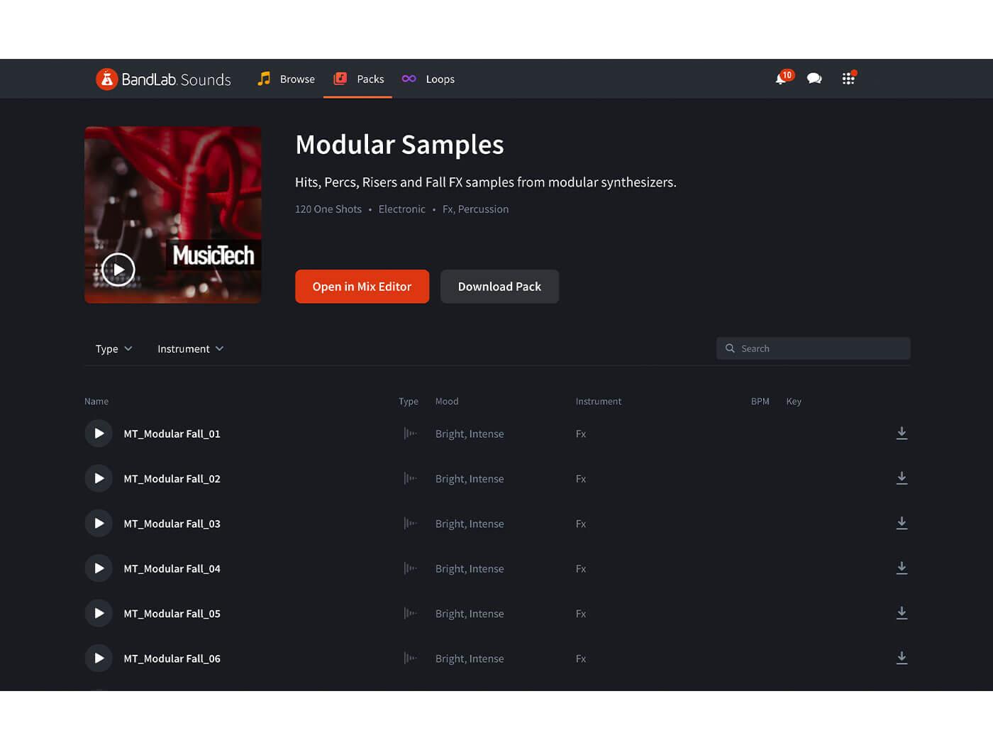 BandLab Sounds MusicTech