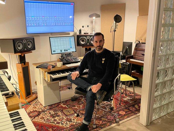 Saycet in the studio