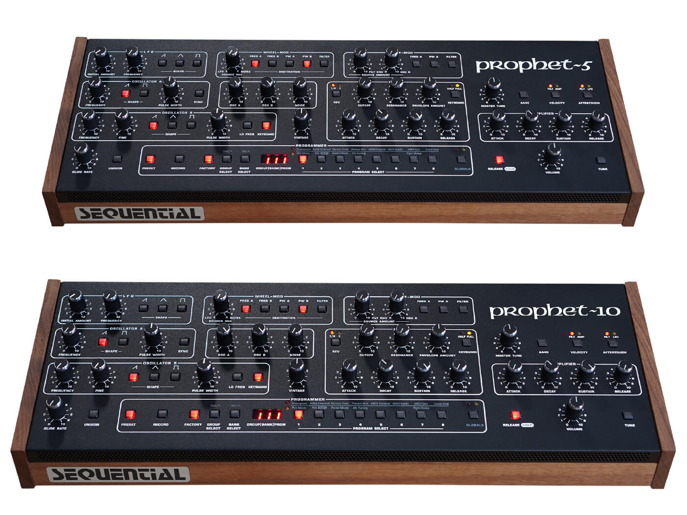 Sequential Prophet-5 and Prophet-10 Desktop