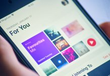 Apple Music audio streaming