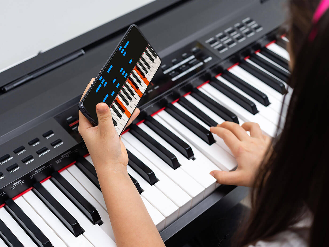 Virtual Piano Lesson