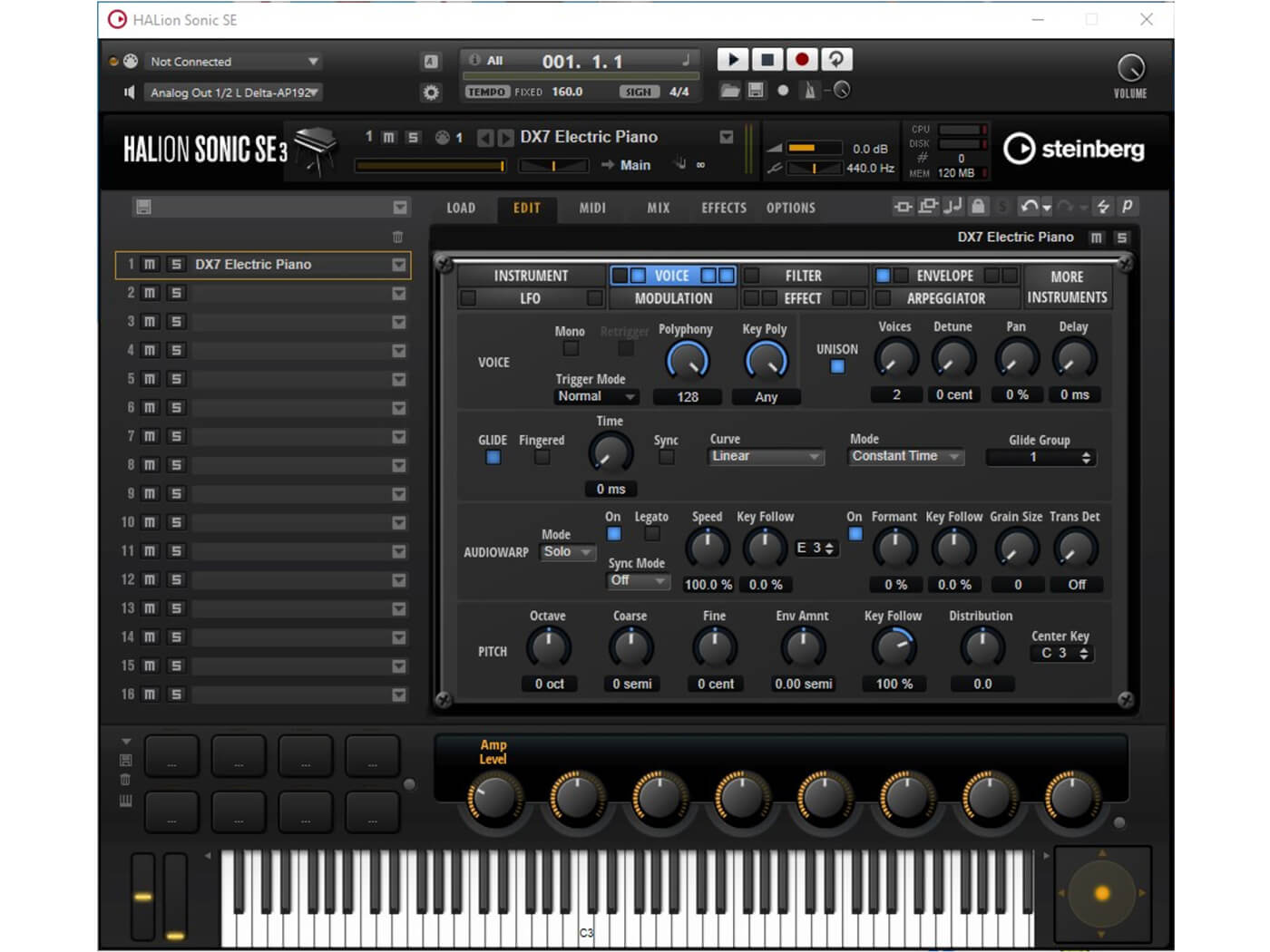 FreeMusicProduction DX7 Electric Piano