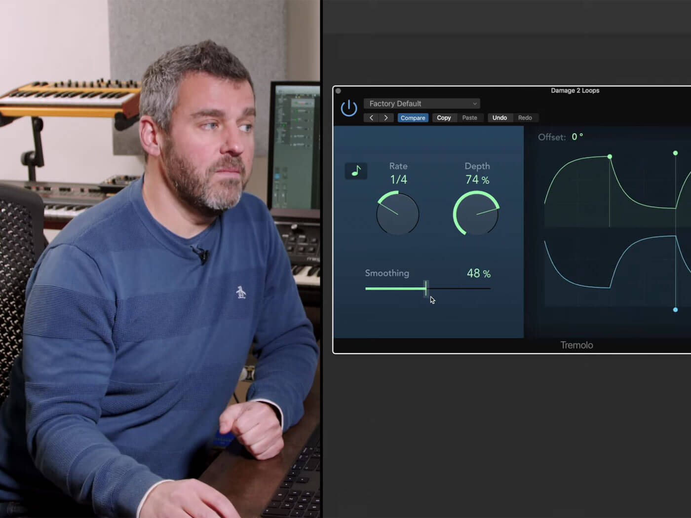 How to send your sounds across the stereo field with Logic Pro's Tremolo | MusicTech