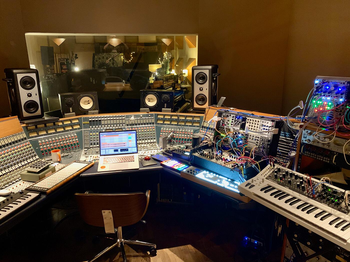 Rik Simpson Paris Studio Control Room