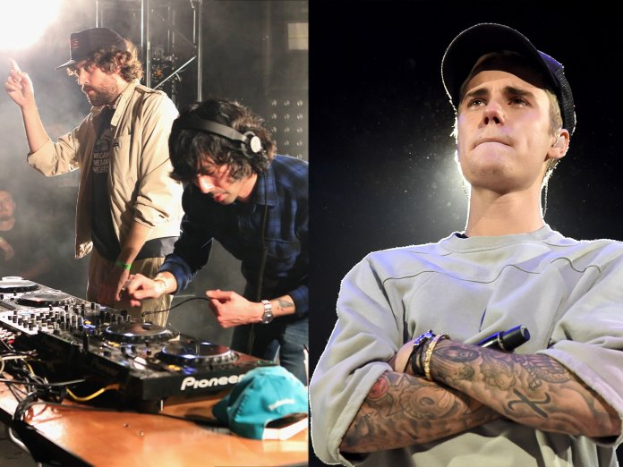 Justice and Justin Bieber
