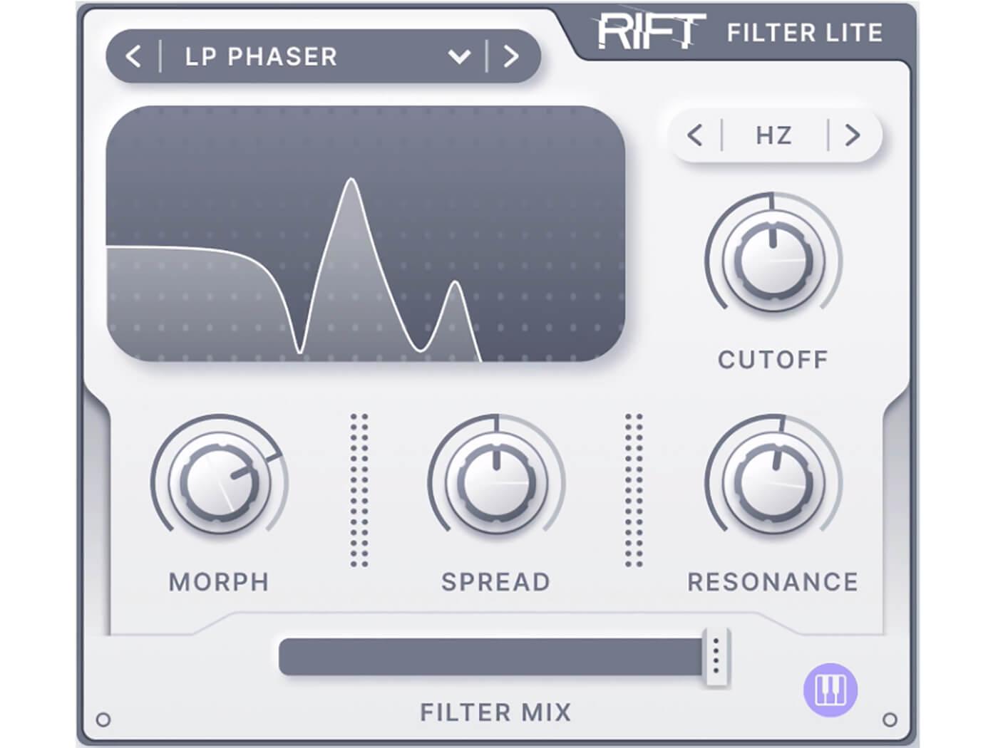 Minimal Audio - Rift Filter Lite