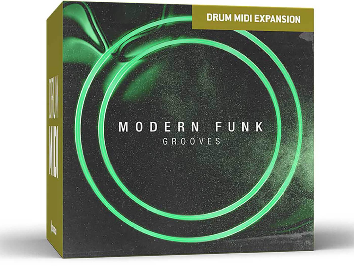 Toontrack - Modern Funk Grooves Drum MIDI Pack