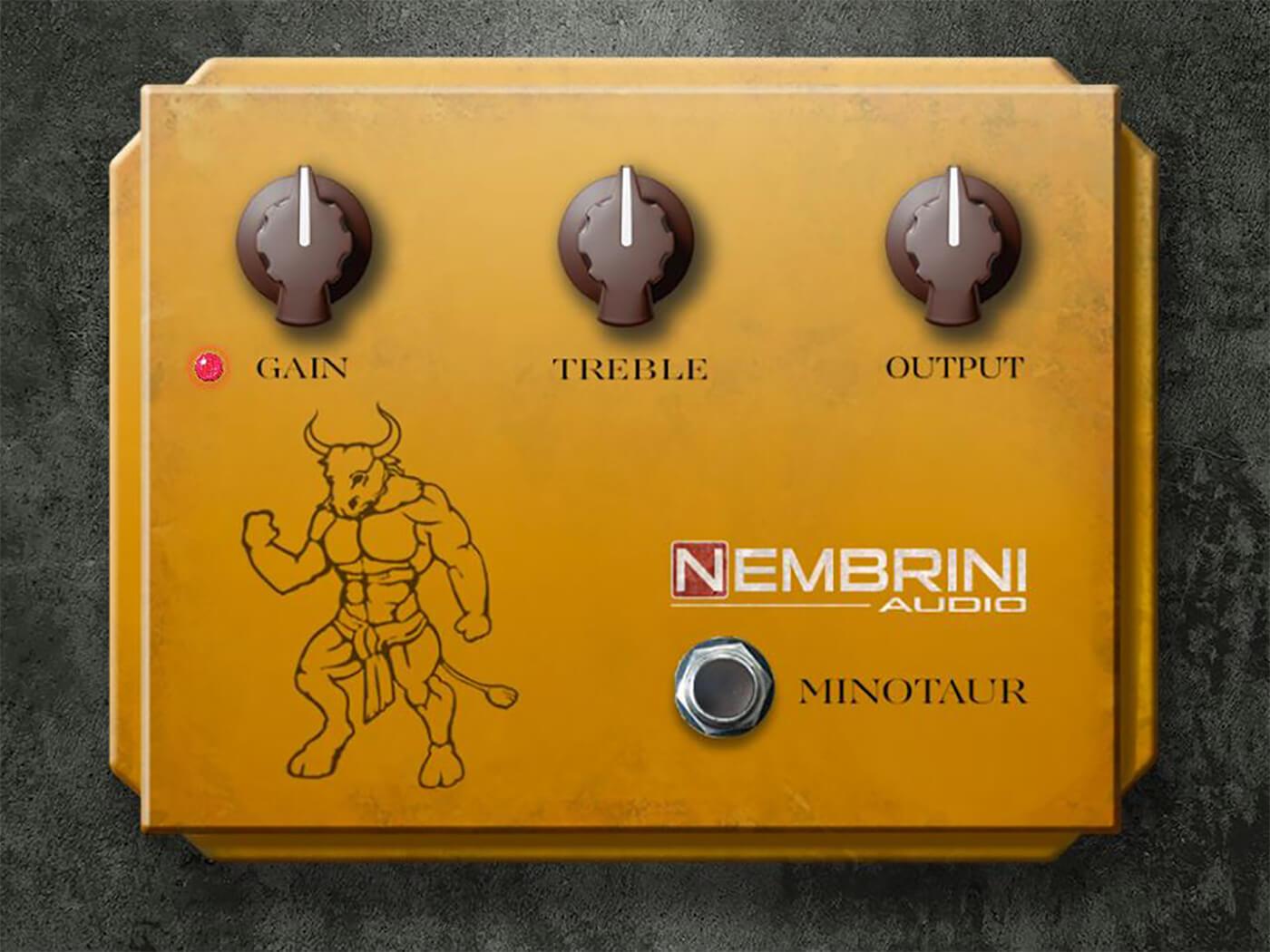 Nembrini Audio Klon Minotaur Ovredrive
