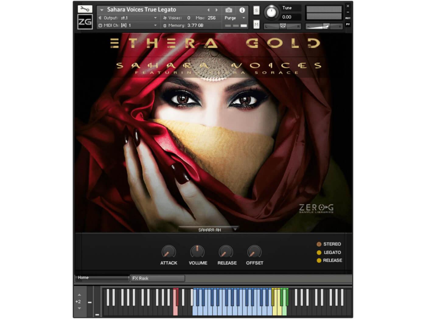 Zero-G - Ethera Gold Sahara Voices