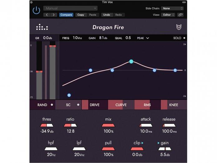 Denise Audio Dragon Fire Tonal Compressor
