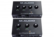M-Audio M-Track Solo and Duo