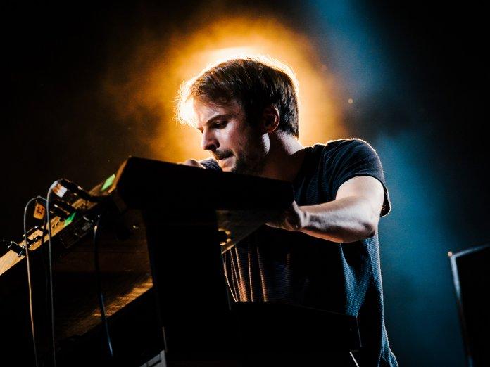 Nils Frahm onstage