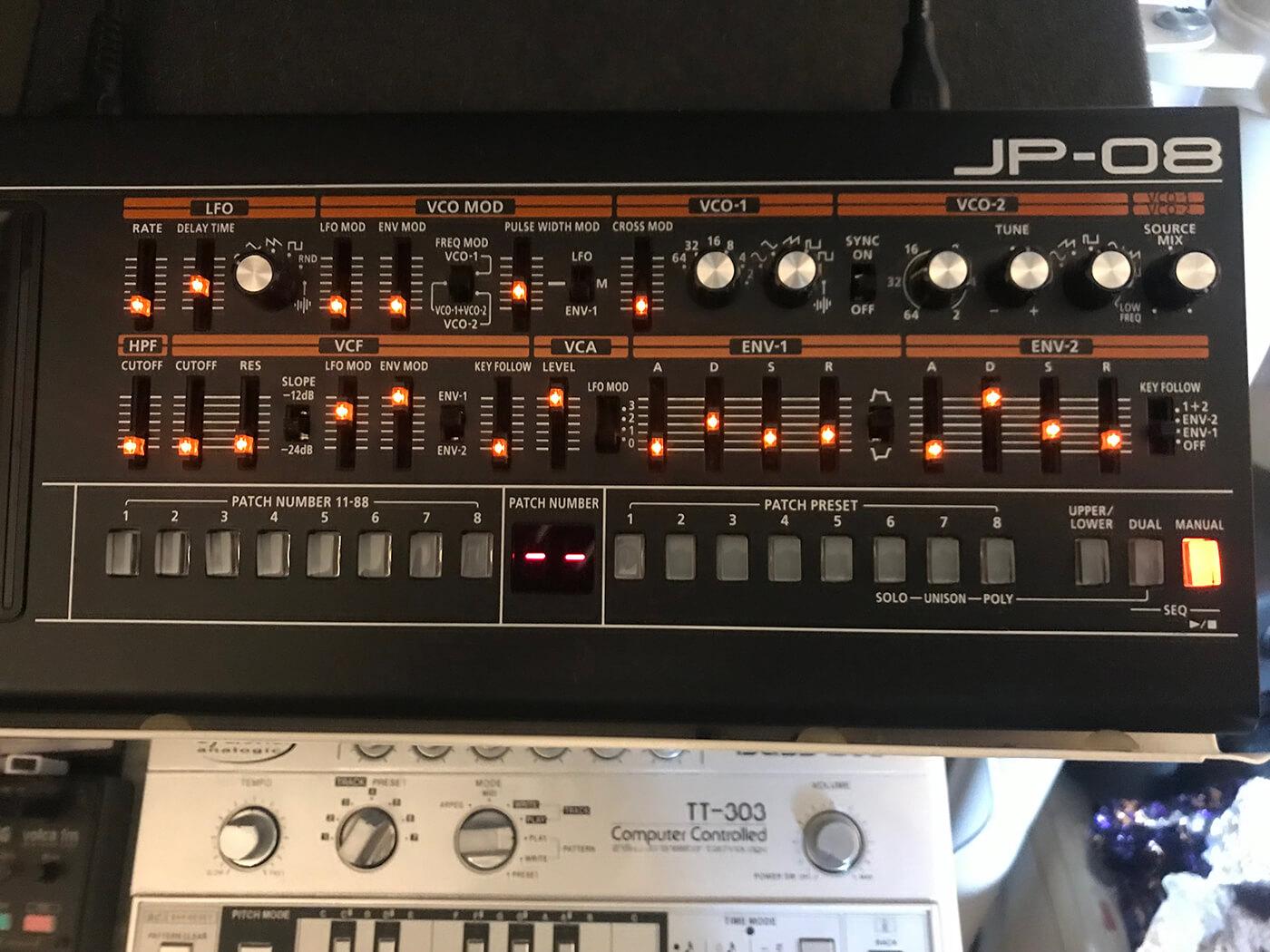 Martin Ikin's Roland JP 08