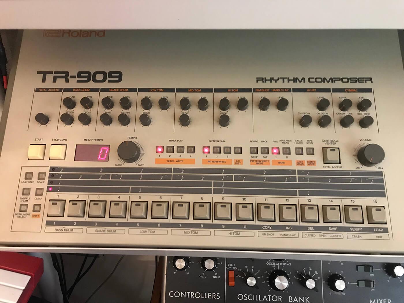 Martin Ikin's Roland TR 909