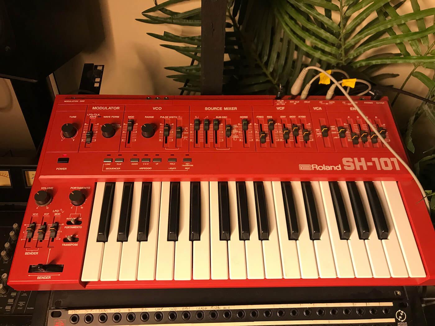 Martin Ikin's Roland SH 101