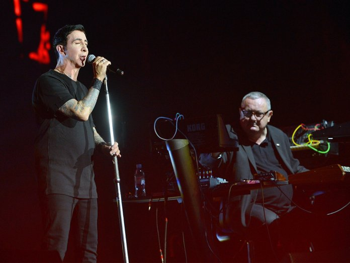 Soft Cell onstage