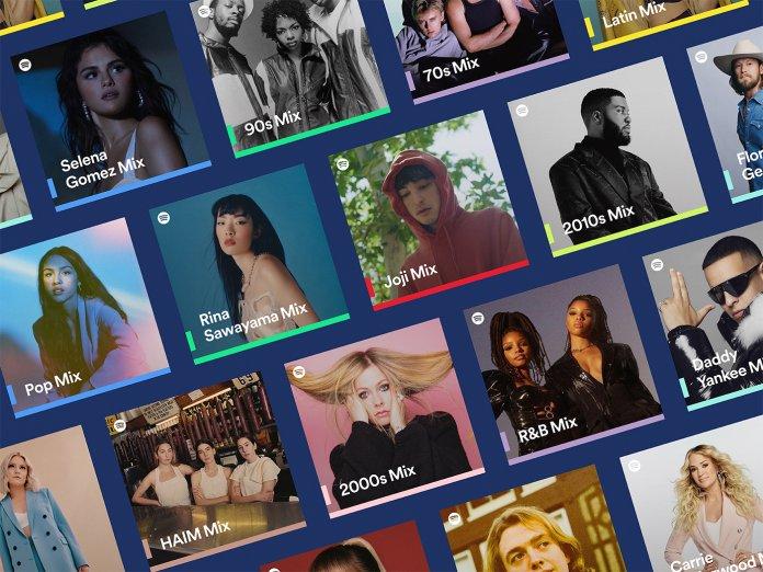Spotify Mixes