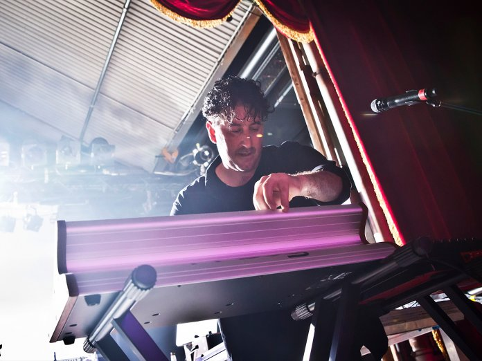 Tony Di Blasi Avalanches onstage