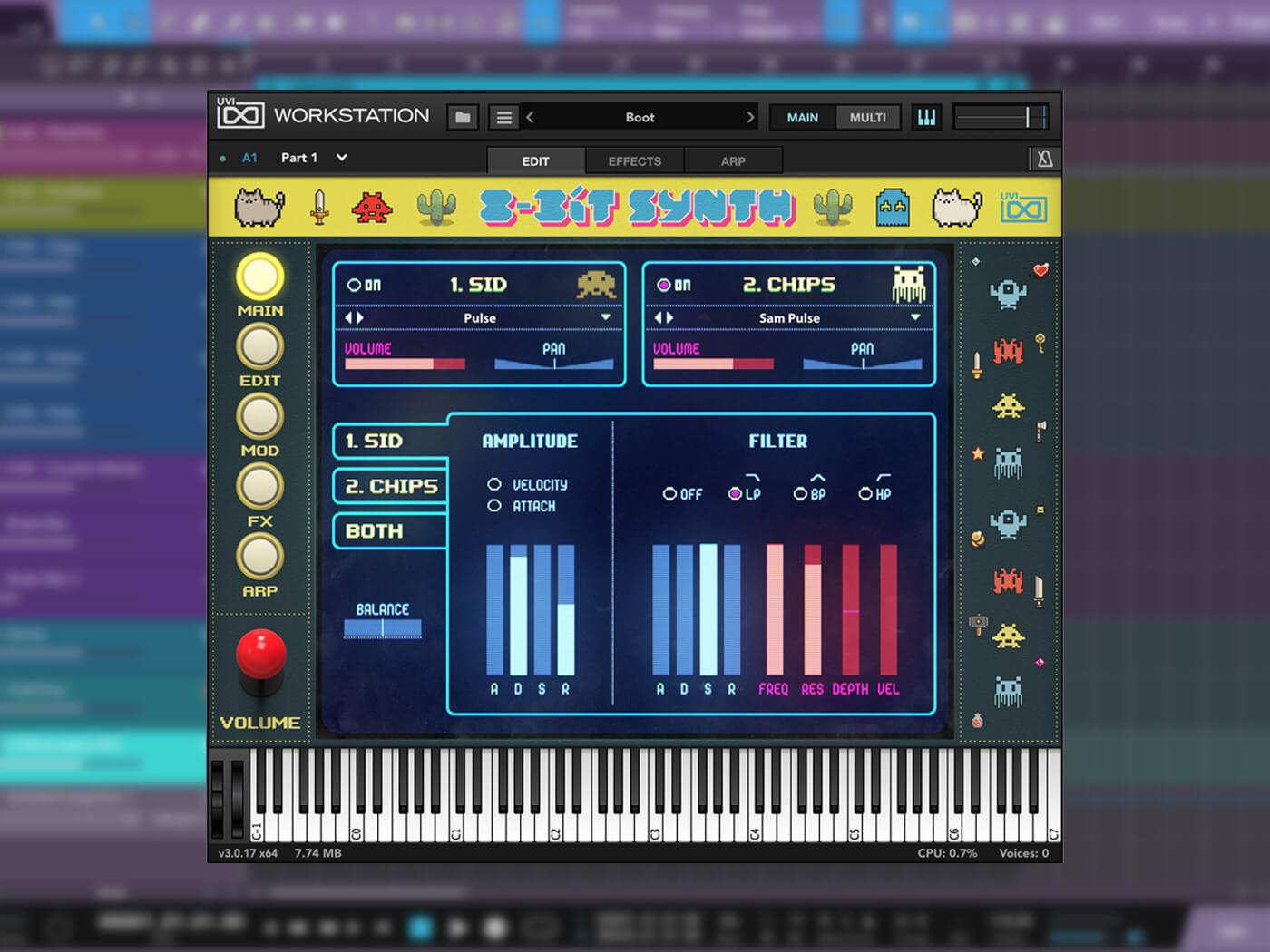 UVI 8-Bit Synth Hero image