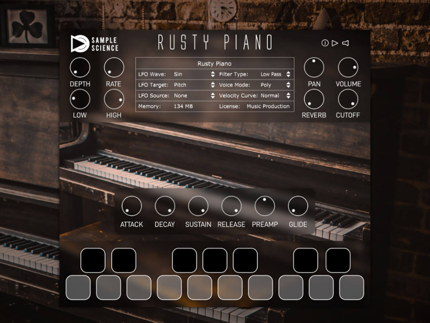 SampleScience Rusty Piano is a free plug-in for softly saturated piano sounds | MusicTech