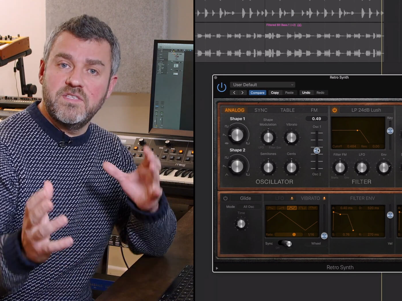 How to use detune in Logic Pro X