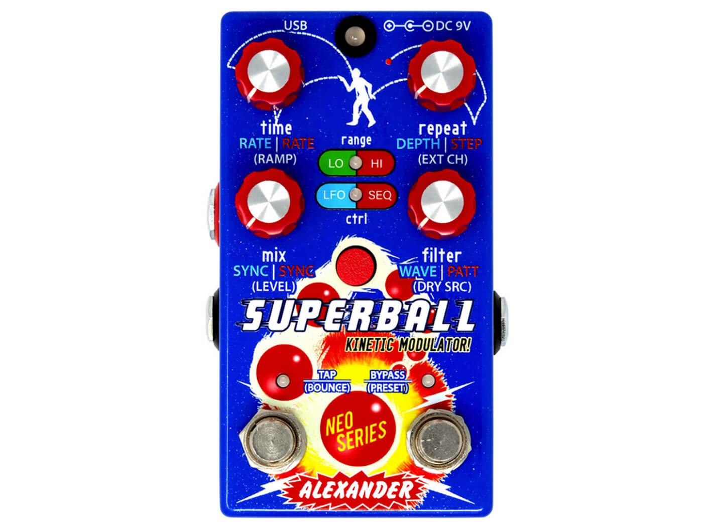 Alexander Pedals Superball Kinetic Modulator