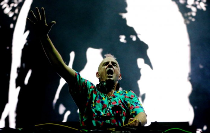 Fatboy Slim COVID pilot The First Dance 6,000 people party
