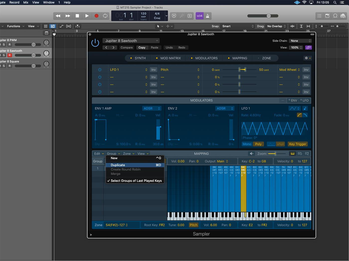 Logic Workshop: Sampler Synth 13