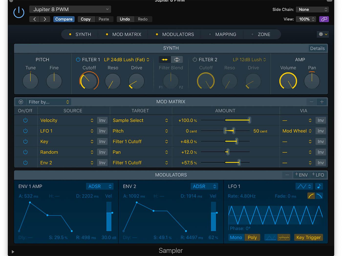 Logic Workshop: Sampler Synth 5