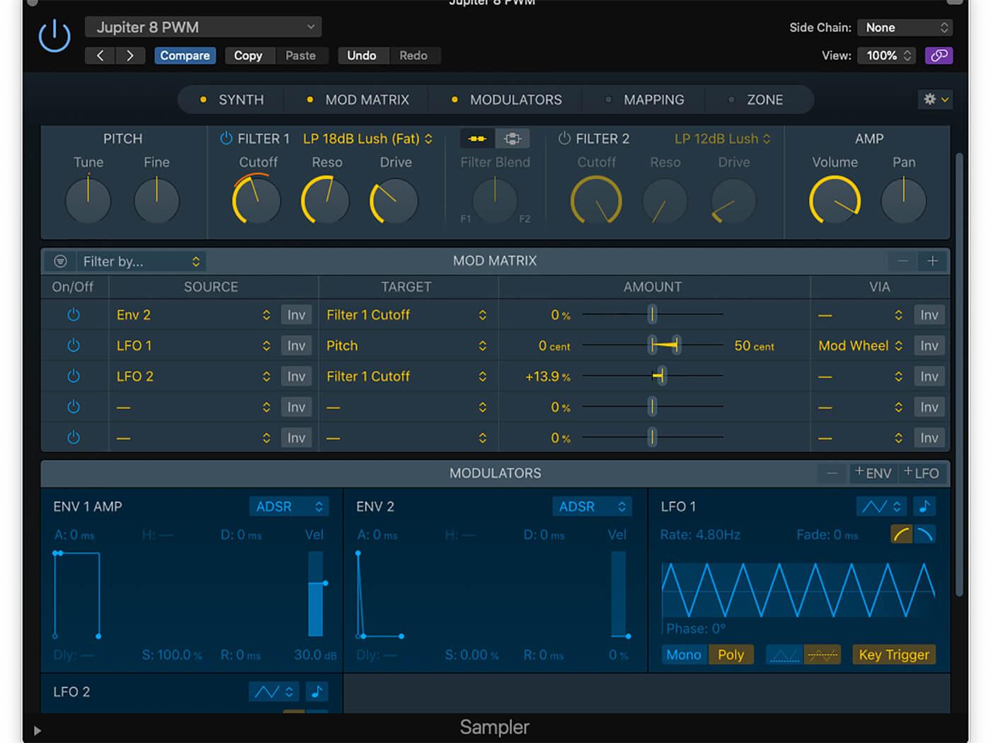 Logic Workshop: Sampler Synth 9